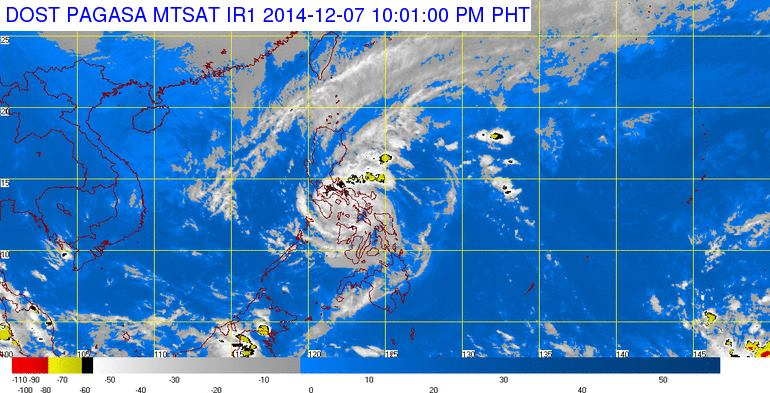 ruby hagupit 10pm dec7