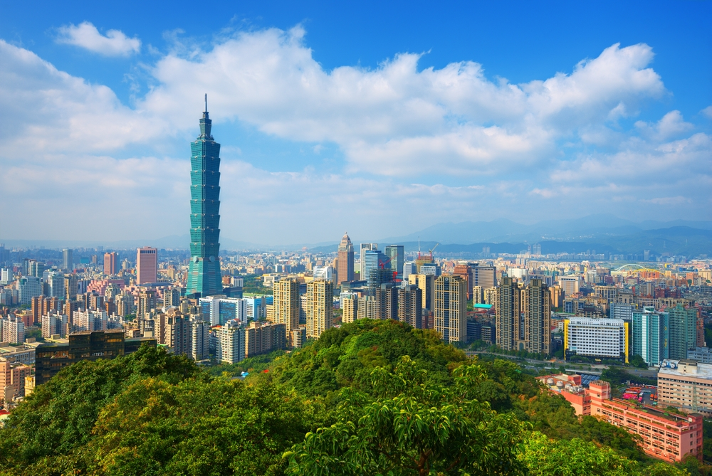 Taipei skyline (shutterstock)
