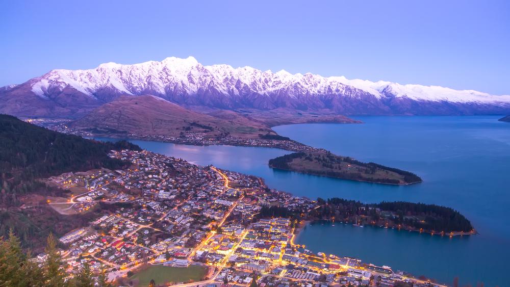 Aerial view of Queensland, New Zealand (Shutterstock)