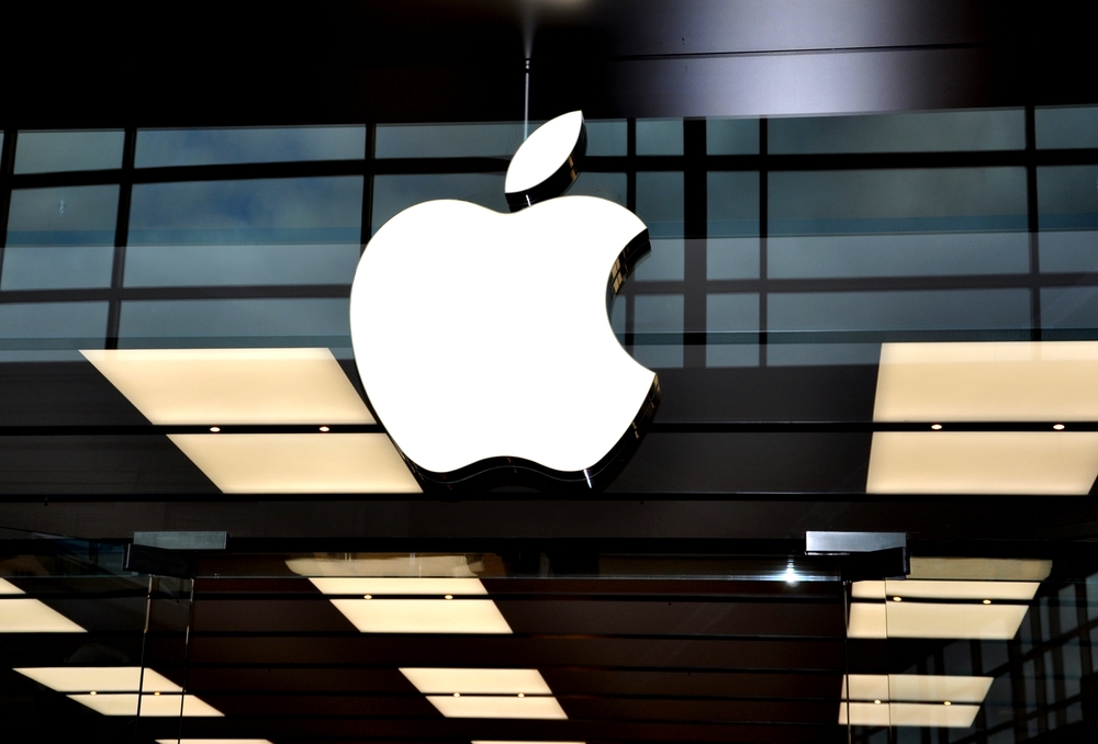 Tech company giant Apple (ShutterStock)
