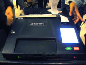 Smartmatic PCOS machine (Comrade Mijur / Technically Juris on Blogspot)
