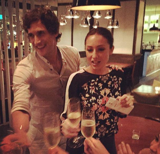Solenn Heussaff now engaged to Argentinian boyfriend Nico Bolzico. (Photo courtesy of Adrien Semblat in Instagram)