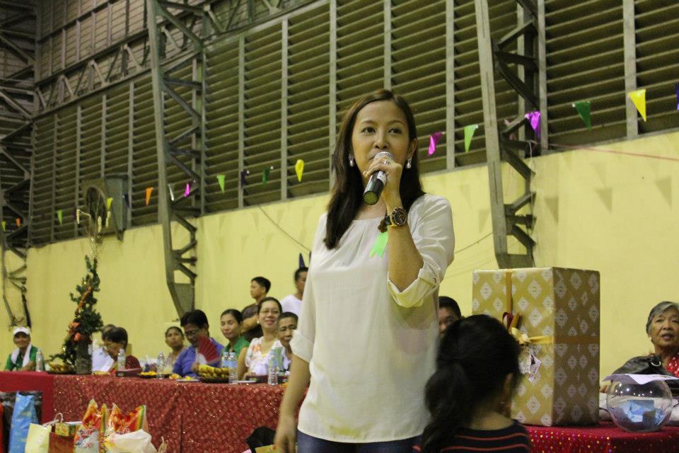 Rep. Abigail Binay, daughter of Vice President Jejomar Binay (Facebook photo)