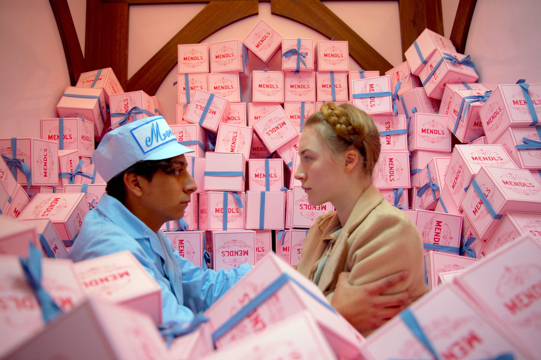 """Wes Anderson's """"The Grand Budapest Hotel"""""""