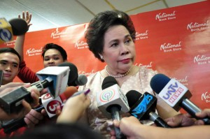 Veteran Senator Miriam Defensor Santiago (Facebook photo)
