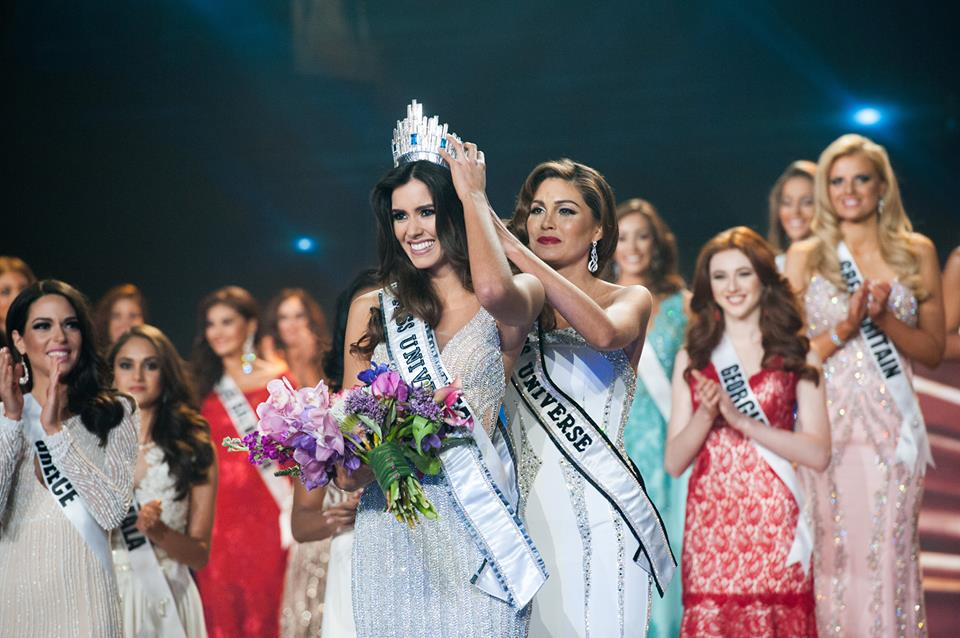 Miss Colombia Paulina Vega is crowned Miss Universe 2014. (Miss Universe Facebook photo)