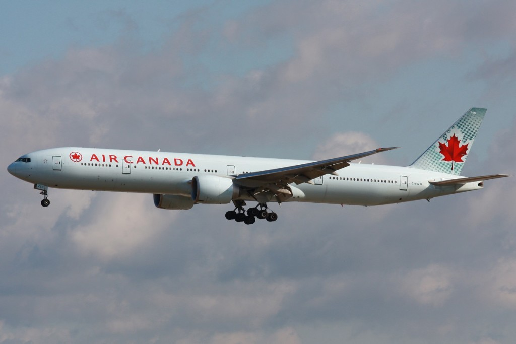 Air Canada (Wikipedia photo)