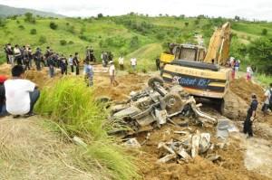 The Maguindanao Massacre crime scene (Photo by Dann Pantoja)