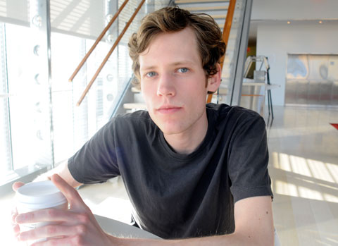 4chan founder Christopher Toole (photo courtesy of New York Times blogs)