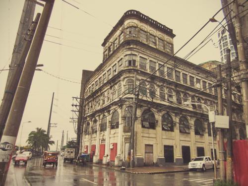 El Hogar building in Escolta, Manila (tumblr photo)