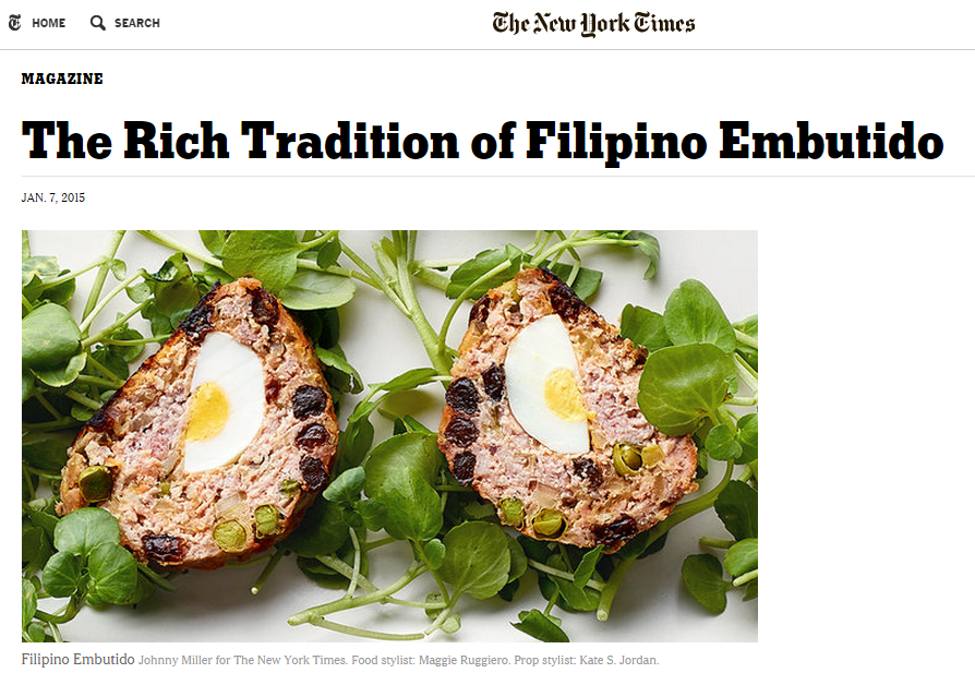 screenshot of The New York Times feature