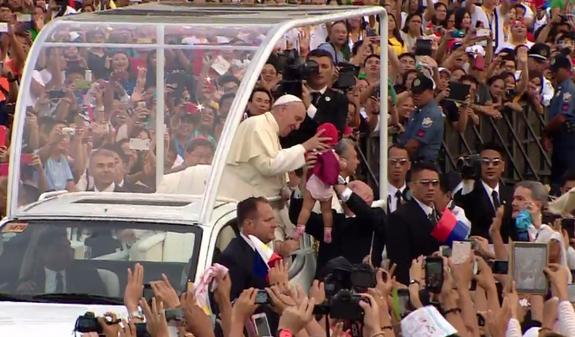 pope kid baby
