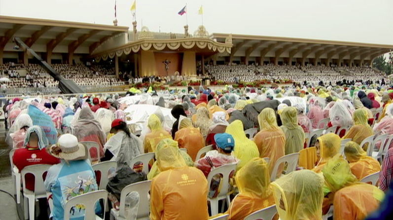 A record-breaking six million attendees came to Luneta for Pope Francis' concluding Holy Mass on Sunday, January 18. (Photo courtesy of Radio-Television Malacanang)