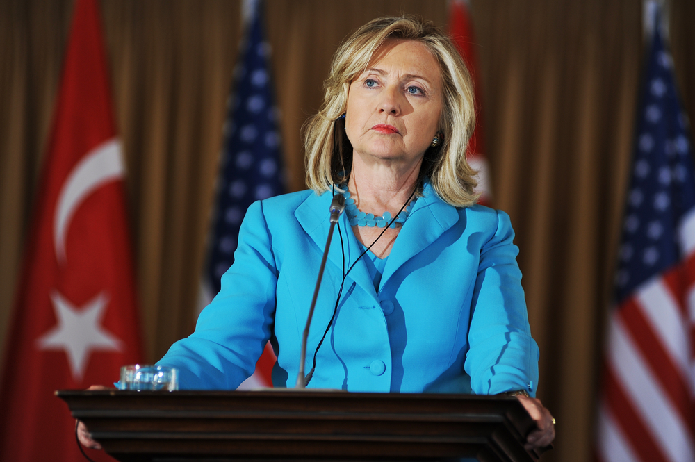 Hillary Rodham Clinton (PhotoReporter / Shutterstock)