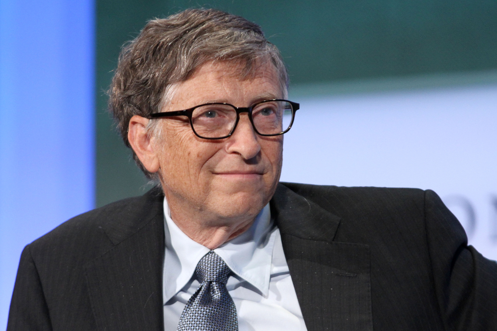 Microsoft founder and CEO Bill Gates (JStone / Shutterstock)