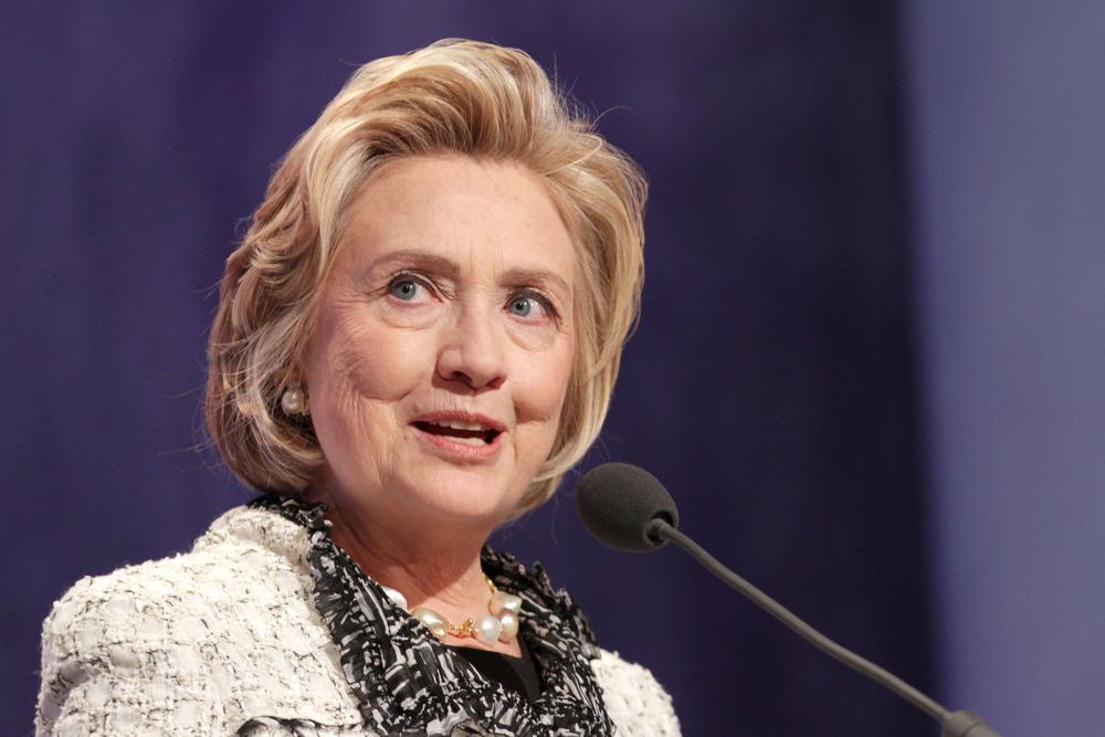 Hillary Rodham Clinton (JStone / Shutterstock)