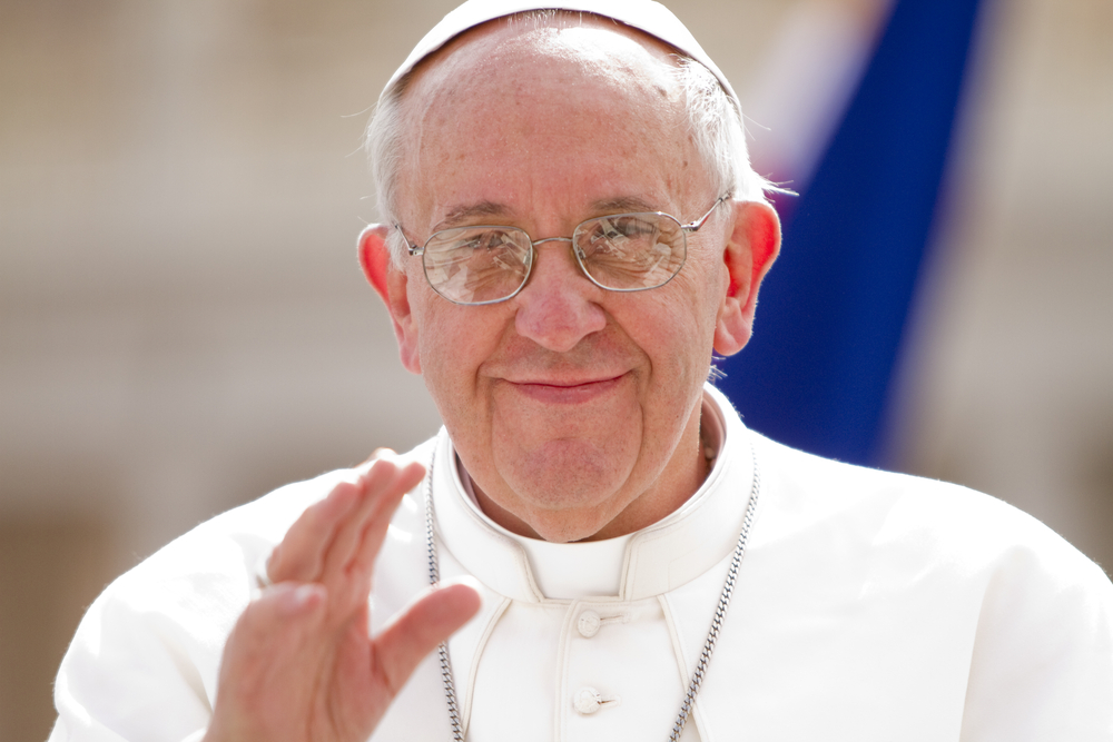 Pope Francis is scheduled to visit the Philippines on January 15-19, 2015 (Philip Chidell / Shutterstock)