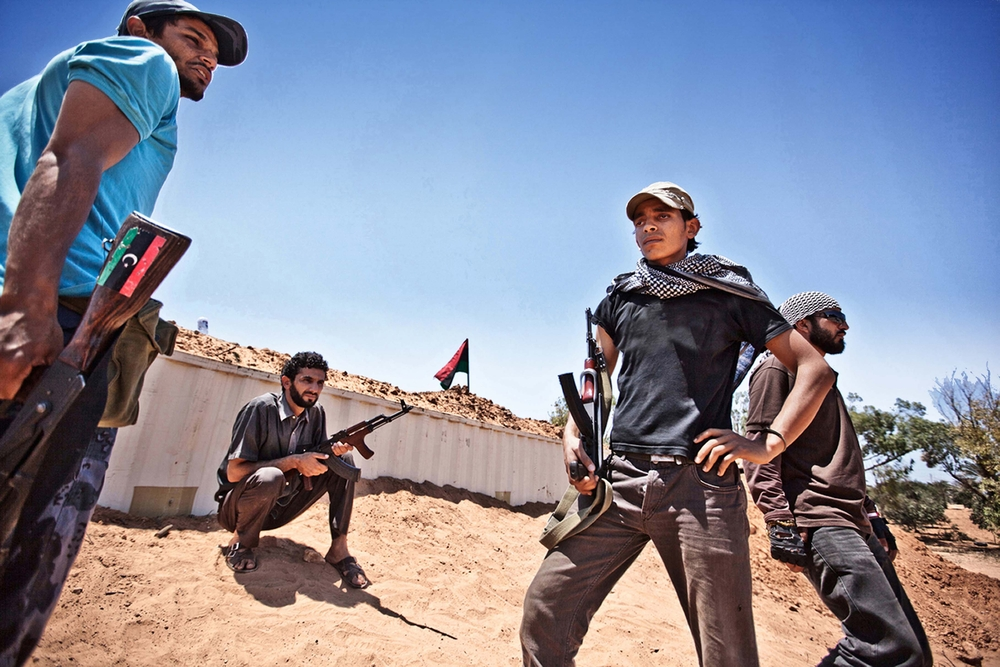 Libyan militants (Dona Bozzi / Shutterstock)