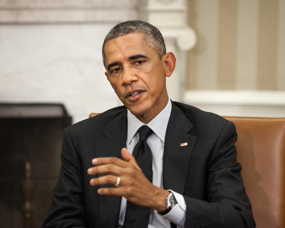 U.S. President Barack Obama (Mykhaylo Palinchak / Shutterstock)