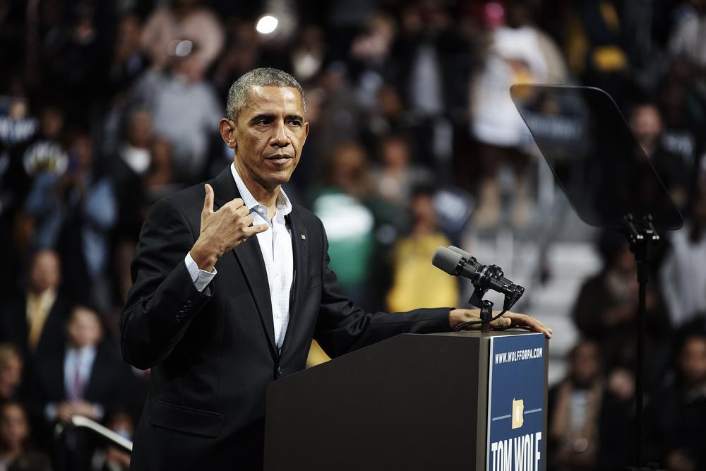 Barack Obama (LaMarr McDaniel / Shutterstock)