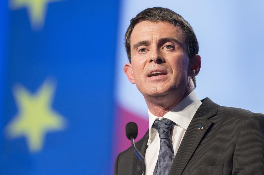 French Prime Minister Manuel Valls (Frederic Legrand - COMEO / Shutterstock)