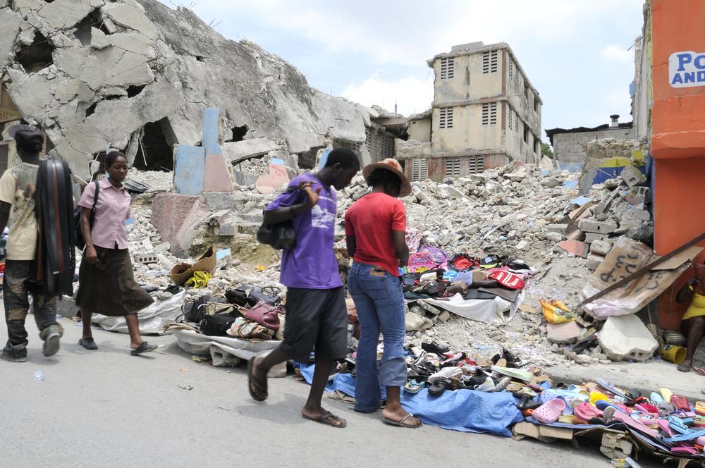 Port-Au-Prince, Haiti on August 21 2010 (arindambanerjee / Shutterstock)