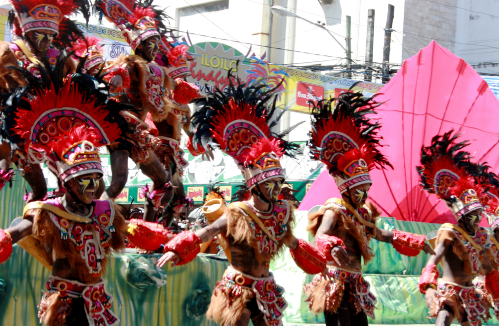 Iloilo's famous Dinagyang Festival (Tony Magdaraog / Shutterstock)