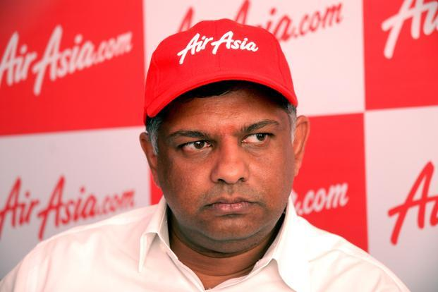 AirAsia founder Tony Fernandes (photo courtesy of www.livemint.com)