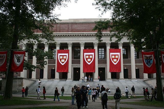 Widener Library, Harvard University. Joseph Williams / Flickr.