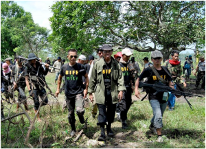 Bangsamoro Islamic Freedom Fighters (Photo courtesy of the Institute for the Study of Violent Groups; www.isvg.org)