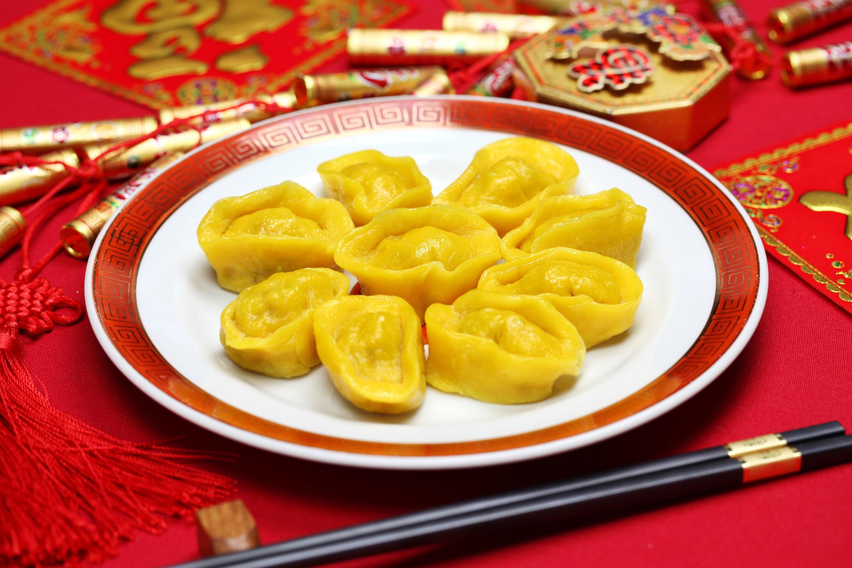 Golden dumplings (Bonchan/ ShutterStock)