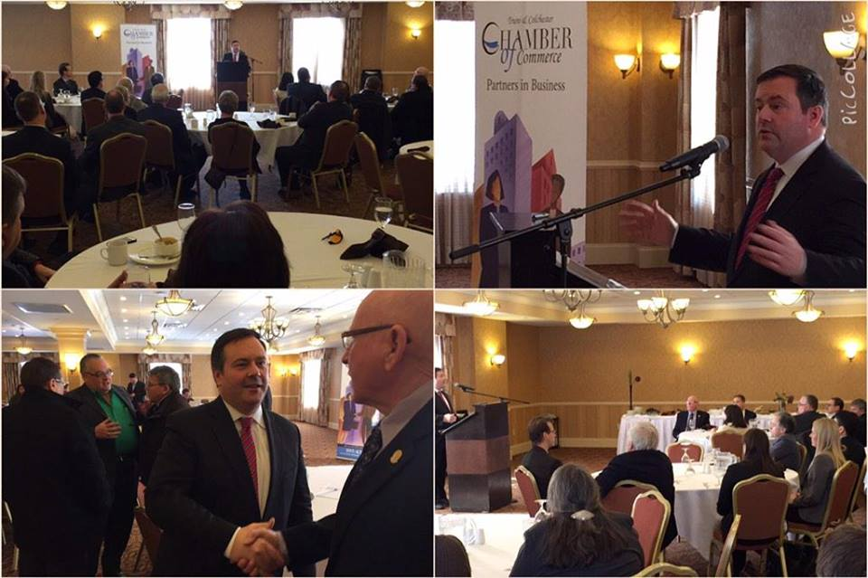 Spoke to the Truro & Colchester Chamber of Commerce today about our skills for jobs agenda and how Nova Scotia will benefit (Facebook photo)