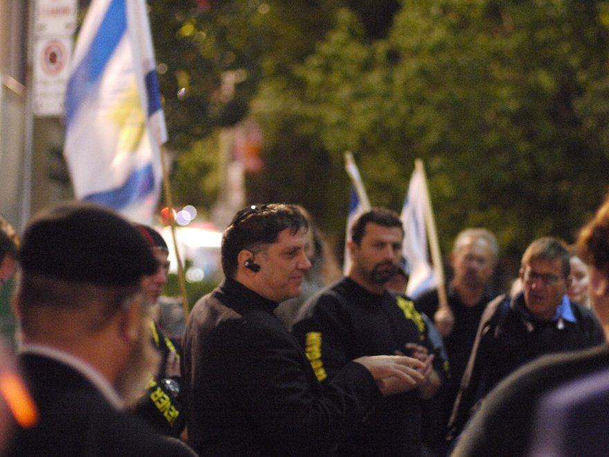 Photo courtesy of Jewish Defense League - Canada on WordPress