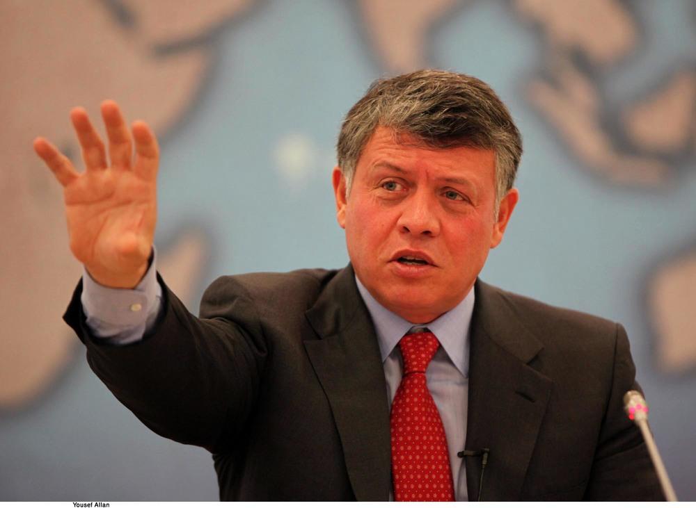 King Abdullah of Jordan (Chatham House)
