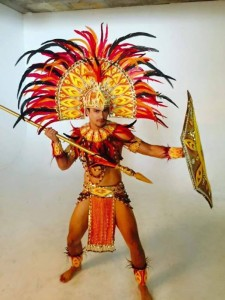 Perez in his national costume / Facebook Photo