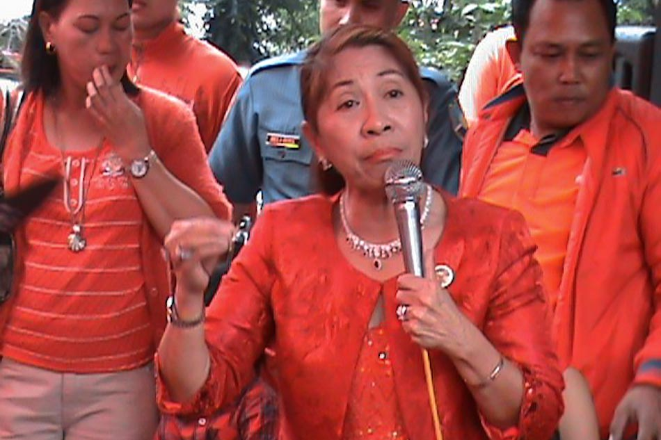 Masbate Gov. Rizalina Seachon-Lanete (Photo: An Probinsya San Masbate Yana Facebook page_