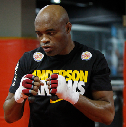 Anderson 'The Spider' Silva (Facebook photo)