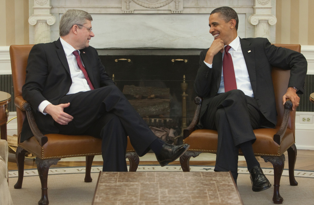 Canadian Prime Minister Stephen Harper and U.S. President Barack Obama (www.pm.gc.ca)