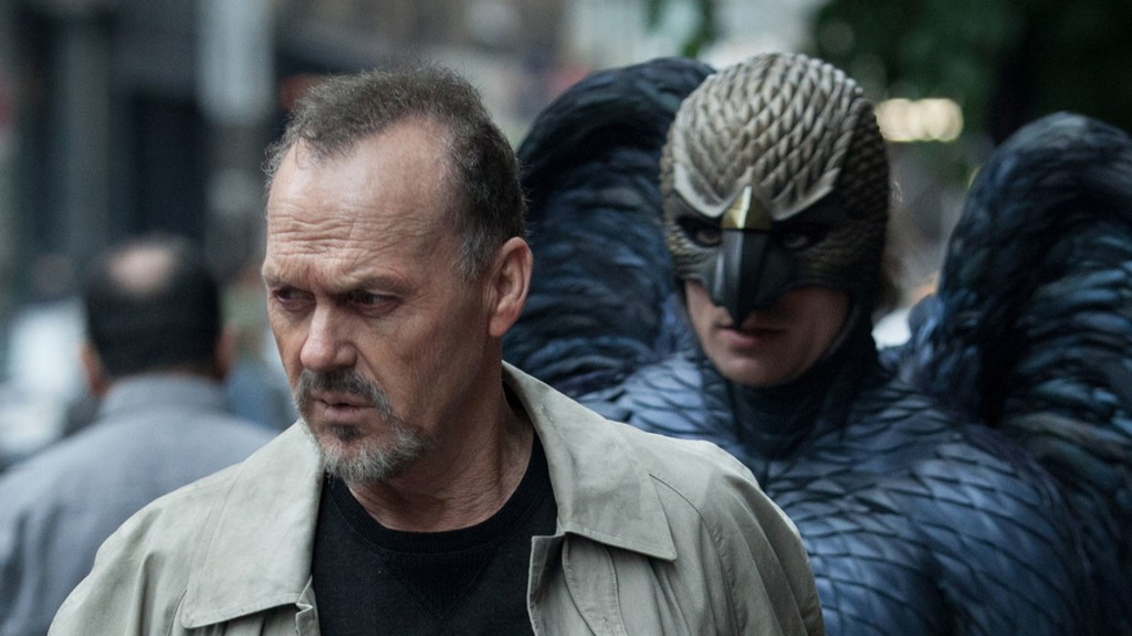 Michael Keaton on 'Birdman' (Photo: Movie Pilot)