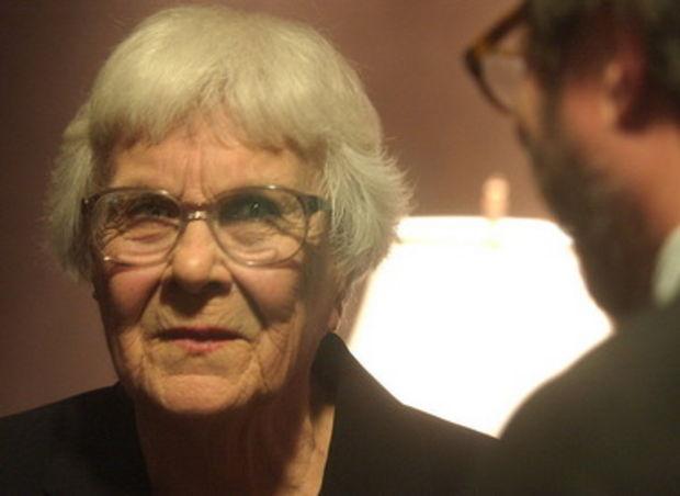 """To Kill A Mockingbird"" author Harper Lee (screenshot from www.al.com footage)"