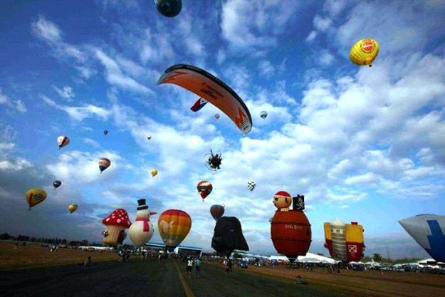 Philippine International Hot Air Balloon Fiesta (Facebook photo)