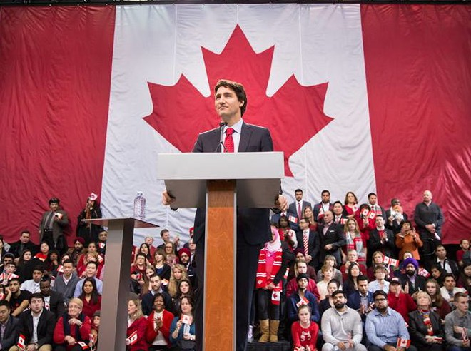 Liberal Party Leader Justin Trudeau (Facebook photo)