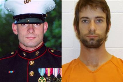 EDDIE RAY ROUTH, The former Marine is accused of killing Navy SEAL sniper Chris Kyle in 2013. (Composite photo from the Routh family and Erath County Sheriff's Office)
