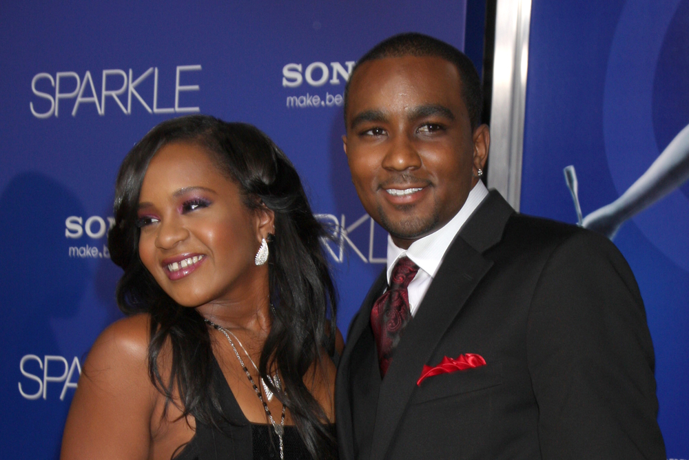 "Bobbi Kristina Brown and Nick Gordon arrive at the ""Sparkle"" premiere at Graumans Chinese Theater on August 16, 2012 in Los Angeles, CA (Helga Esteb / Shutterstock)"