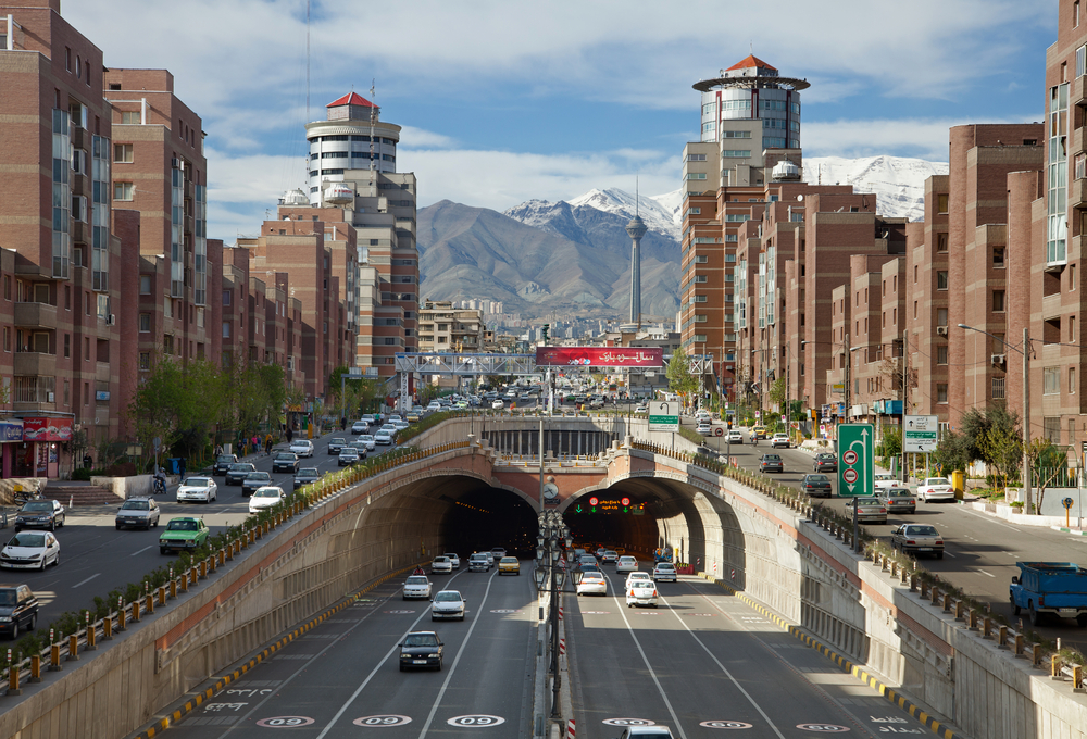 Tehran, Iran (Borna_Mirahmadian / Shutterstock)