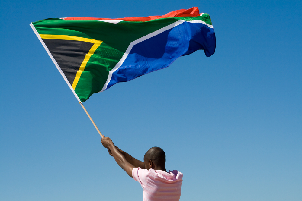 South Africa's Flag (shutterstock)