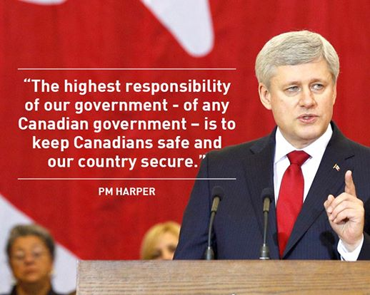 PM Harper Official Facebook page
