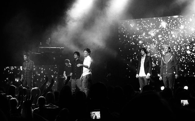 One Direction during their Up All Night tour. Fiona McKinlay / Flickr.