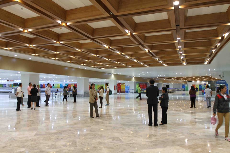 The newly renovated NAIA Terminal 1 (Photo courtesy of Undersecretary Abigail Valte and the Official Gazette of the Republic of the Philippines)