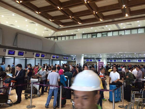 Newly renovated NAIA (Photo courtesy of Undersecretary Abigail Valte and the Official Gazette of the Republic of the Philippines)